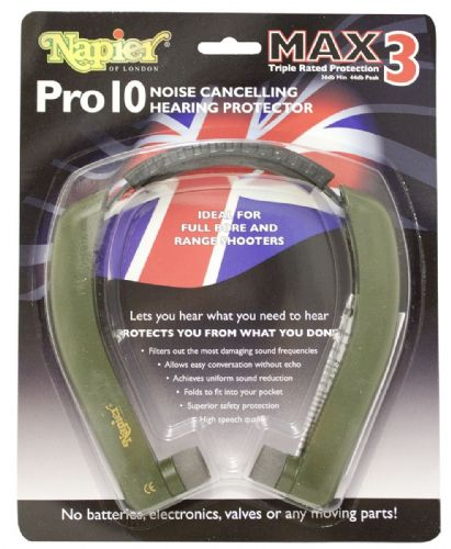 Pro 10 Max 3 Hearing Protection by Napier